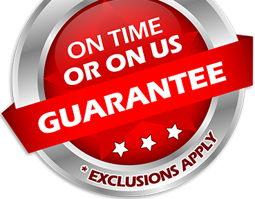 We Guarantee Your Scheduled Appointment or We Pay You!