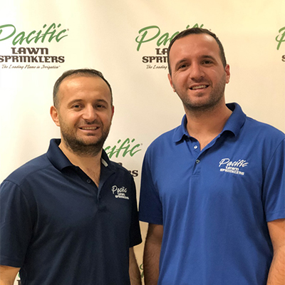 Pacific Lawn Sprinklers Franchisee
