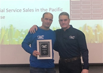 2018 Highest Residential Service Sales in the Pacific Lawn Sprinklers Franchise &  2018 Most Referral Rewards in a Service Area