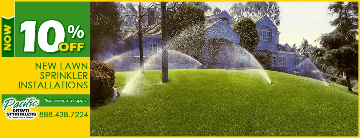 Lawn Sprinklers 10% Off New Sprinkler Installations