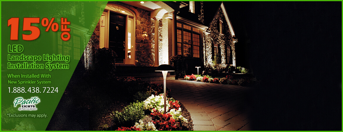 Landscape Lighting 15% Off Pacific Lawn Sprinklers