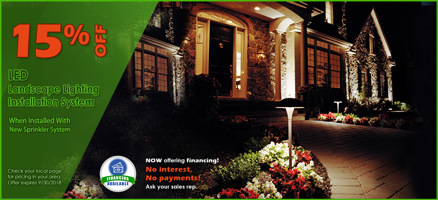 Pacific Lights LED Landscape Lighting 15% Off Promotions