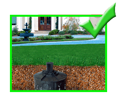 Drainage Flood Yard Catch Basin Flo-Well® environmental storm water retention system