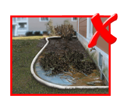 Planter Rotting Flooding Water Damage Drainage Solution