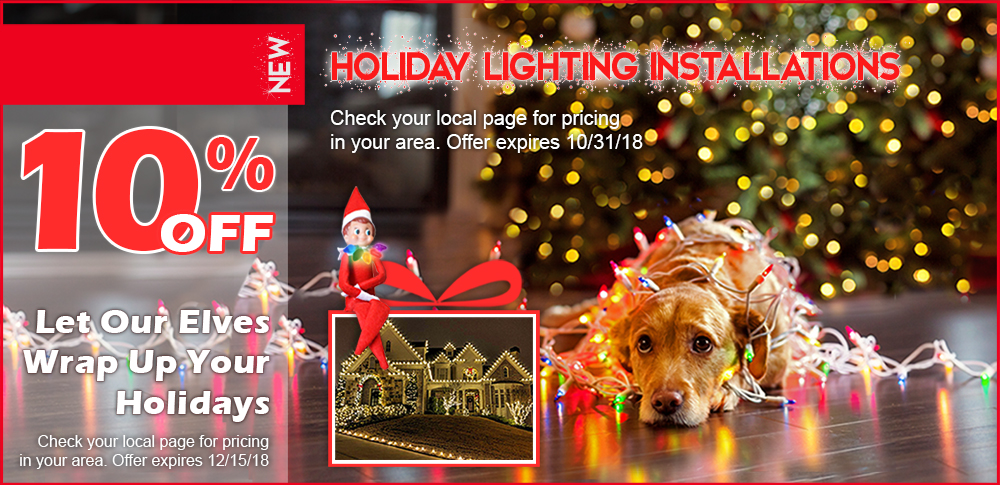 Pacific Lawn Sprinklers Holiday Lighting