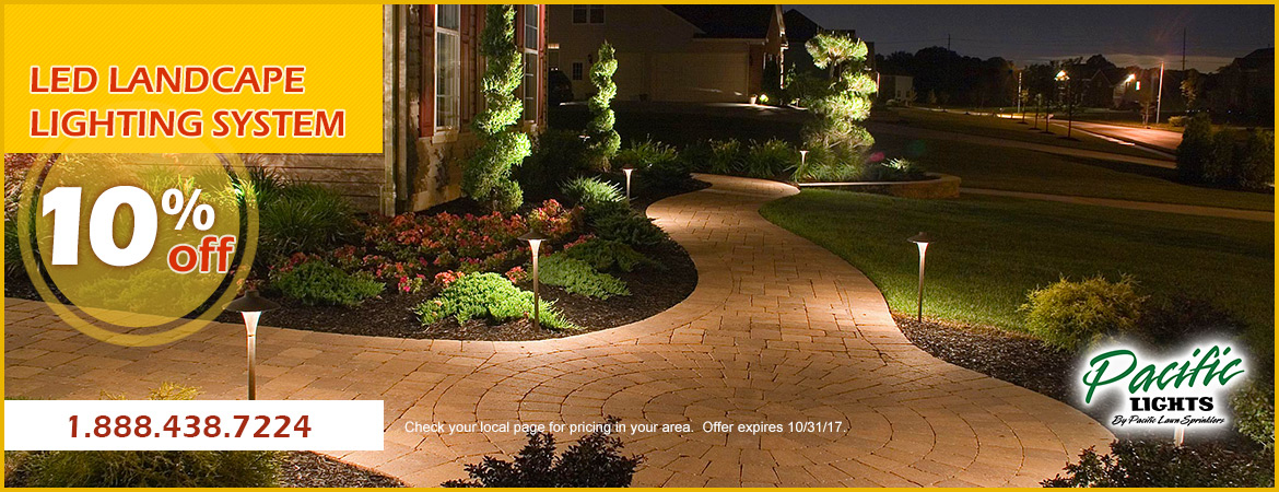 Pacific Lights LED Landscape Lighting 10% Off Promotions