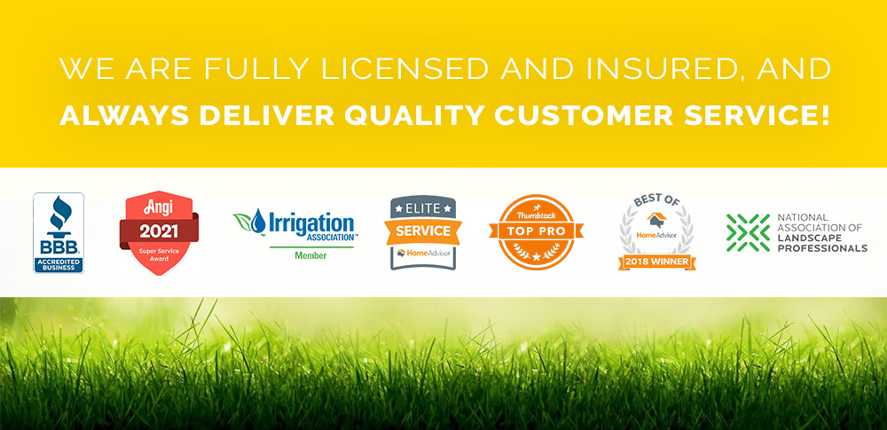 licensed and insured irrigation company