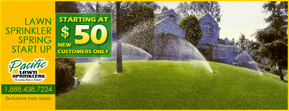 Lawn Sprinklers Spring Start Up