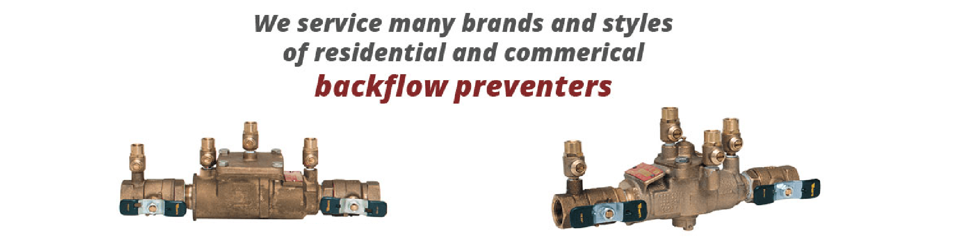 Backflow Prevention Installation