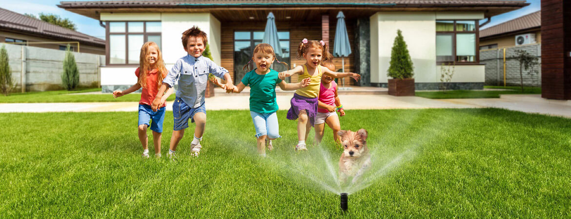 Summer Fun with Pacific Lawn Sprinklers