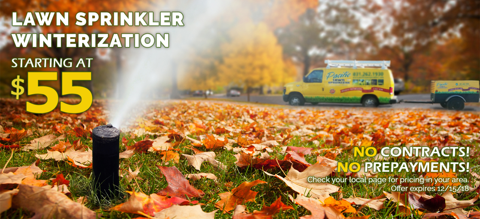 Pacific Lawn Sprinklers Winterization
