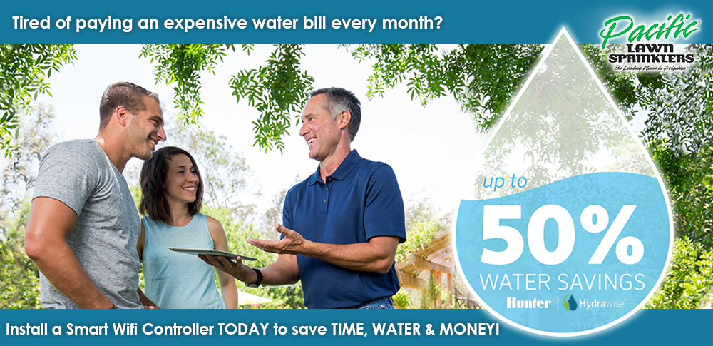 Pacific Lawn Sprinklers Spring Specials