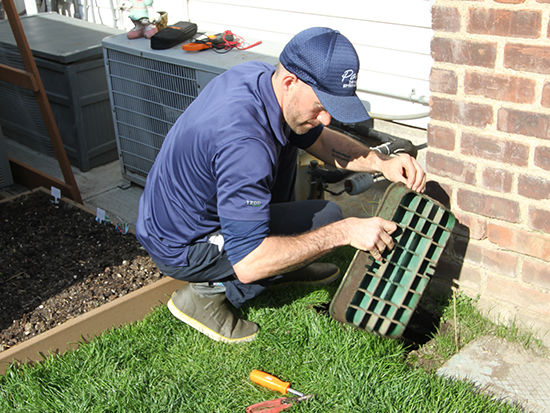 Local lawn sprinkler repair company