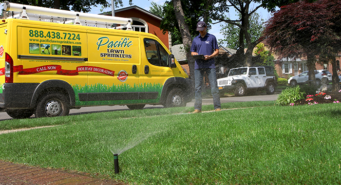 Lawn Sprinkler Systems Installed