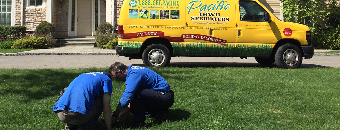 Pacific Lawn Sprinkler Technician