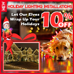10% Off Holiday Lighting